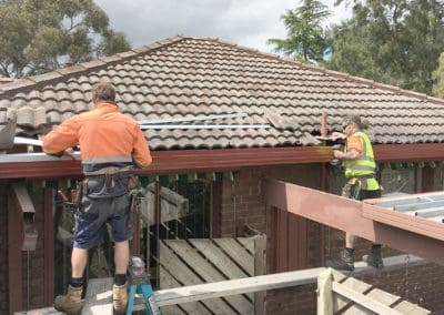 Guttering Installation with installers