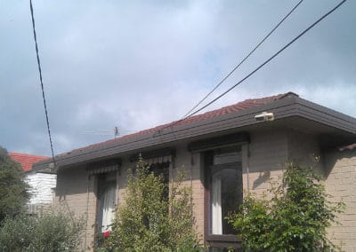 New Gutters from powerlines view
